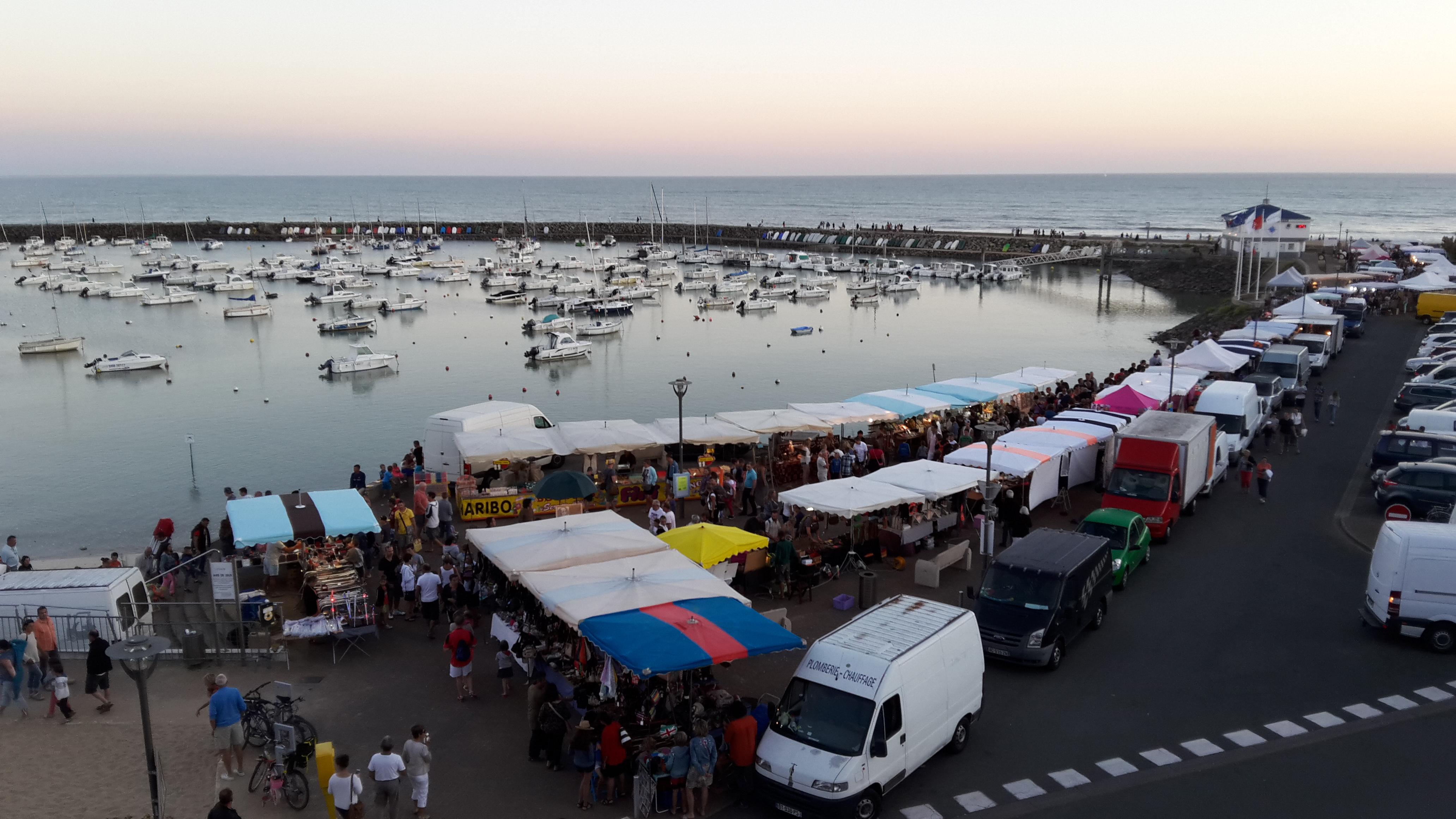 Nocturne du Port