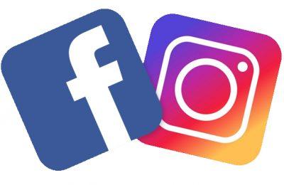 Facebook, Instagram nous voilà !