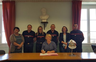 Signature : Convention de mise à disposition d'un agent aux Sapeurs-Pompiers