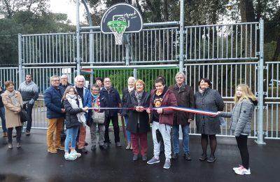 Inauguration du terrain multisports