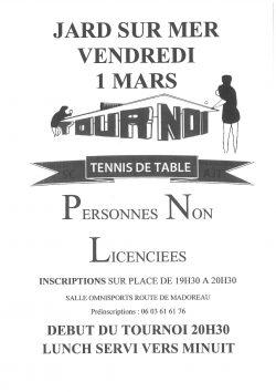 tournoi tennis de table