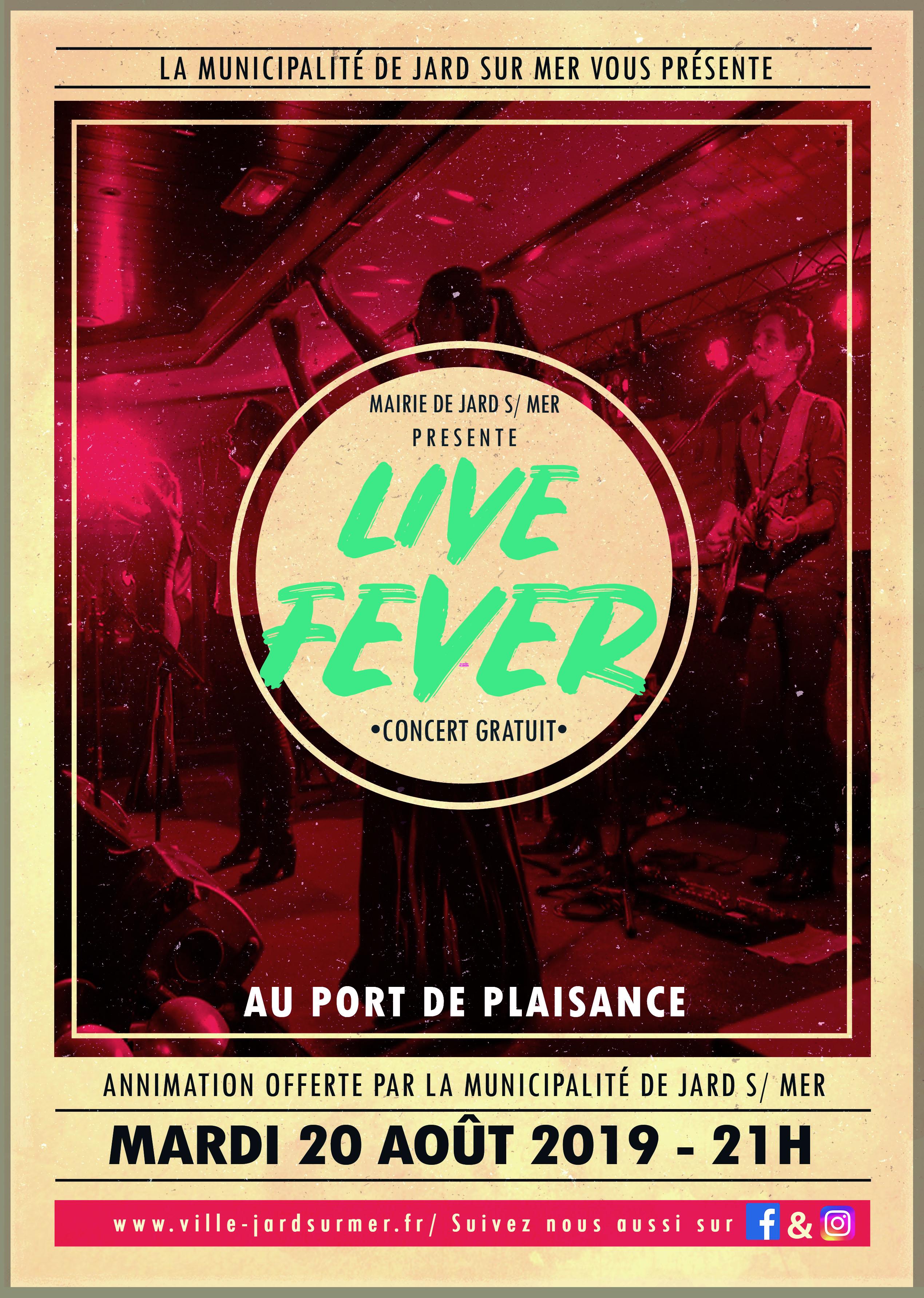 08.20 Live Fever