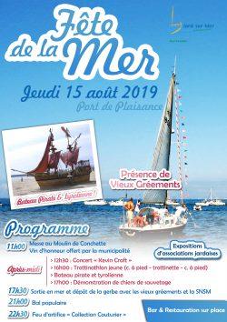 Affiche Fête de la Mer 2019