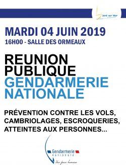 réunion gendarmerie 04-06 19