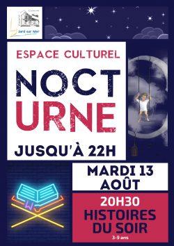 Nocturne de l'Espace Culturel Août 2019