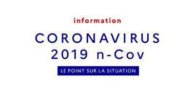 Coronavirus : les informations de la Ville