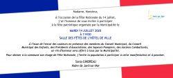 INVITATION 14 Juillet