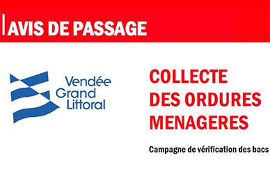 Déchet : campagne de vérification des bacs