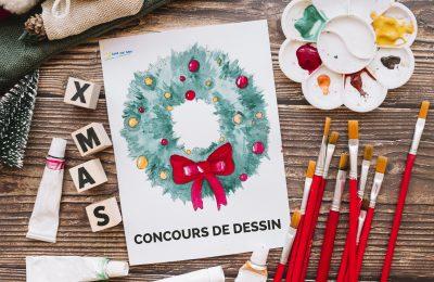 Concours de dessin «Un Noël à Jard-sur-Mer»