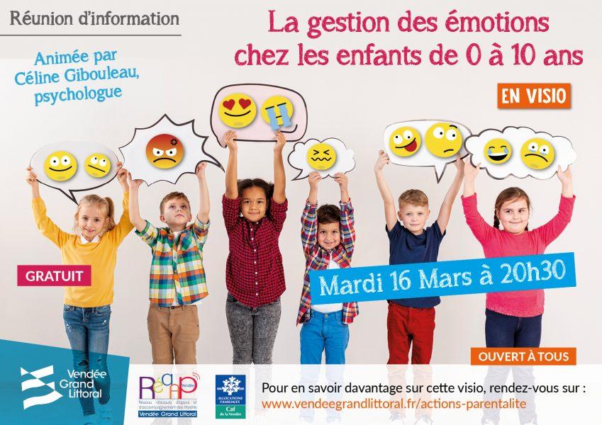 visio émotions affiche