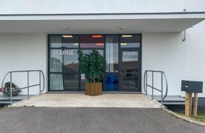 Nouvelle adresse de la Mairie : 18 bis chemin du Rayon, 85520 Jard-sur-Mer