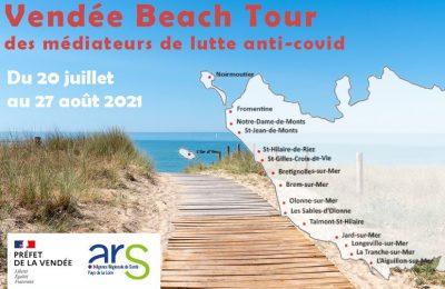 Vendée Beach Tour : dépistage et rencontre avec les médiateurs de lutte anti-covid